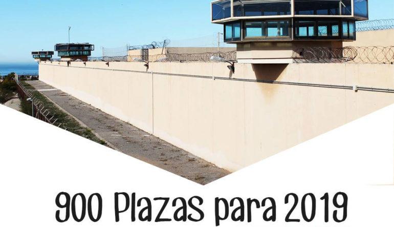 Se convocan pruebas selectivas para cubrir 900 plazas del Cuerpo de Ayudantes de Instituciones Penitenciarias