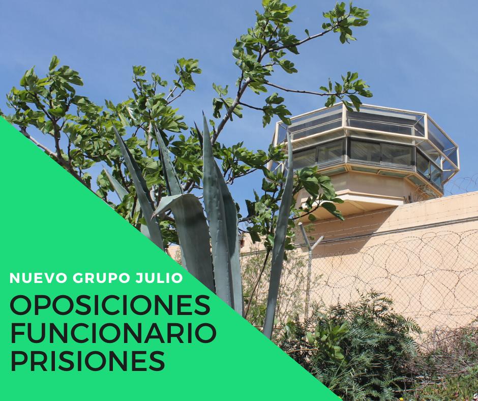 oposiciones prisiones en almeria
